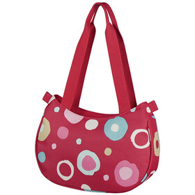 KlickFix Stylebag Bike Pannier Funky Dots 2 red/colourful